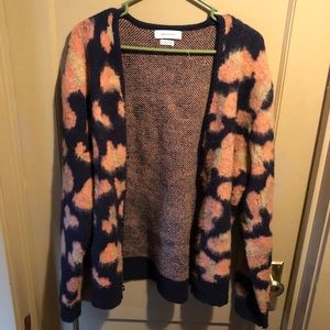 Urban Outfitters abstract floral cardigan